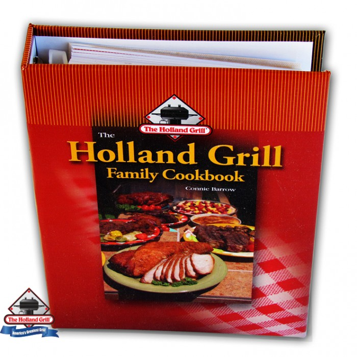Holland Grills Holland Family Cookbook Outdoor Kitchen Accessories