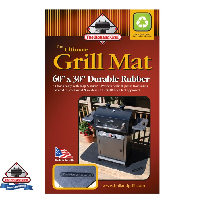 "Holland Grills Grill Mat-(30"" X 60"") (Sold In Singles)"