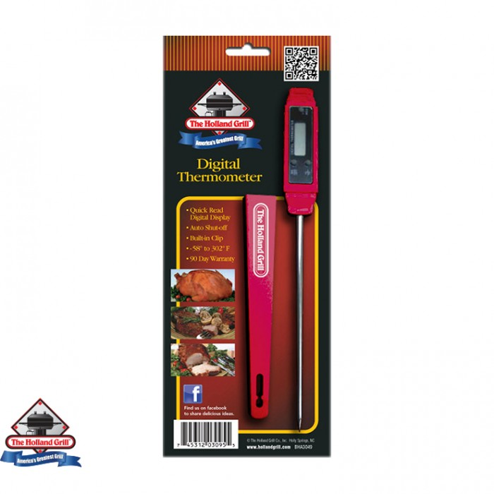 Holland Grills Quick-Read Digital Thermometer Outdoor Kitchen Accessories