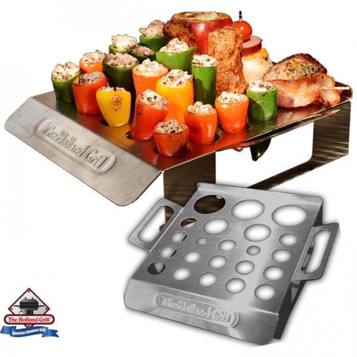 Holland Grills Veggie Roastin' Rack New! Outdoor Kitchen Accessories