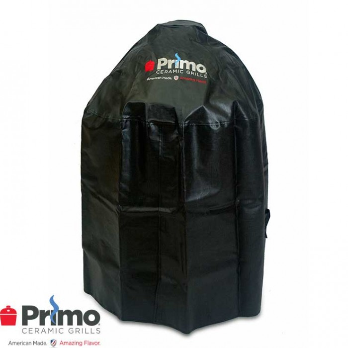 Primo Grills Kamado in Cradle & JR 200 in Cradle Grill Cover PRM409 Primo Grills Collection