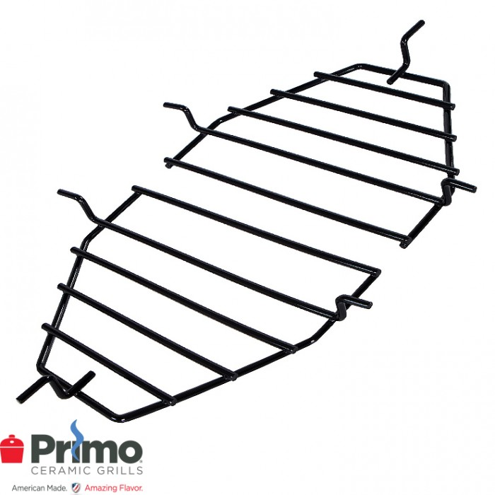 Primo Heat Deflector Rack/Drip Pan Rack Oval LG 300 (2 pcs.) PRM316
