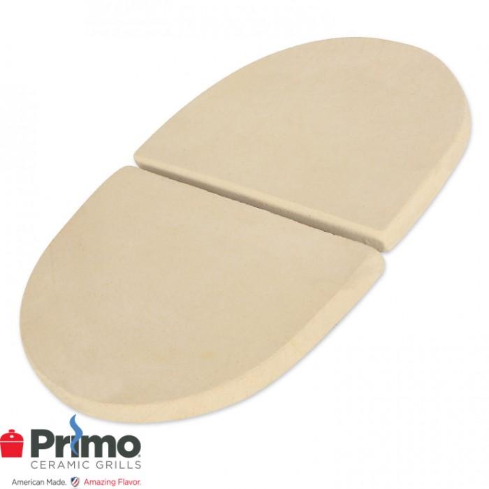 Primo Heat Deflector Plates Oval JR 200 (2 pcs.) PRM325 Outdoor Kitchen Accessories