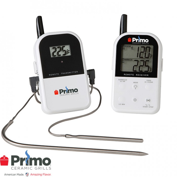 Primo Remote Wireless Thermometer PRM339 Outdoor Kitchen Accessories