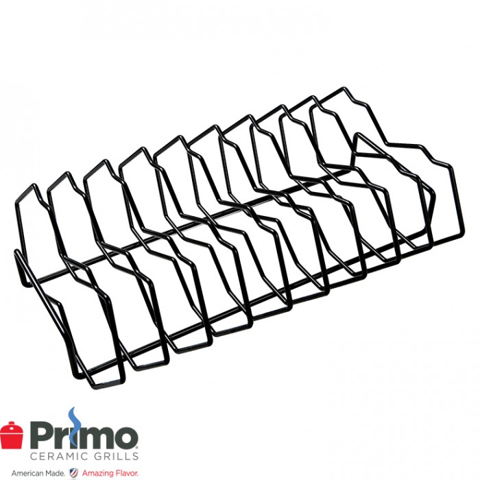 Primo 9-Slot Rib Rack Oval XL 400 PRM341 Outdoor Kitchen Accessories