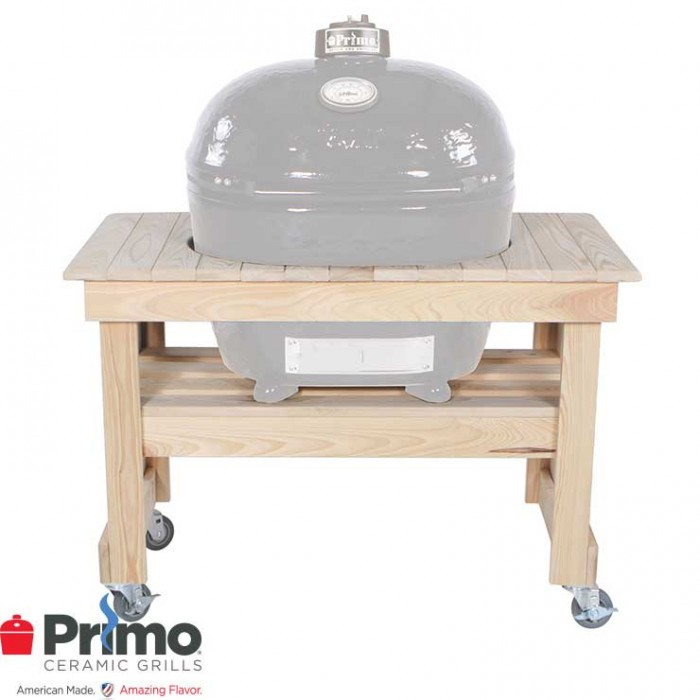 Primo Grill Cypress Table Compact For Oval XL 400 PRM602