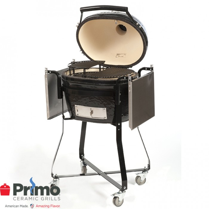 Primo Grills Oval JR 200 & Cradle PRM774 / PRM306 Primo Grills Collection