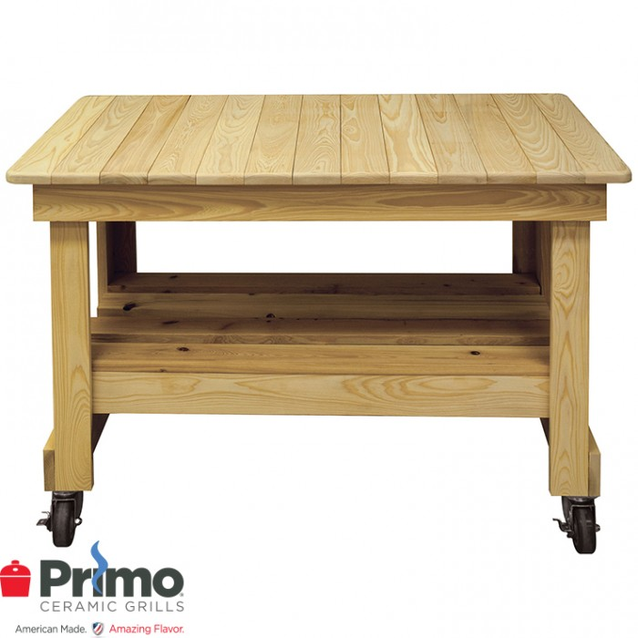 Primo Cypress Prep Table On Casters