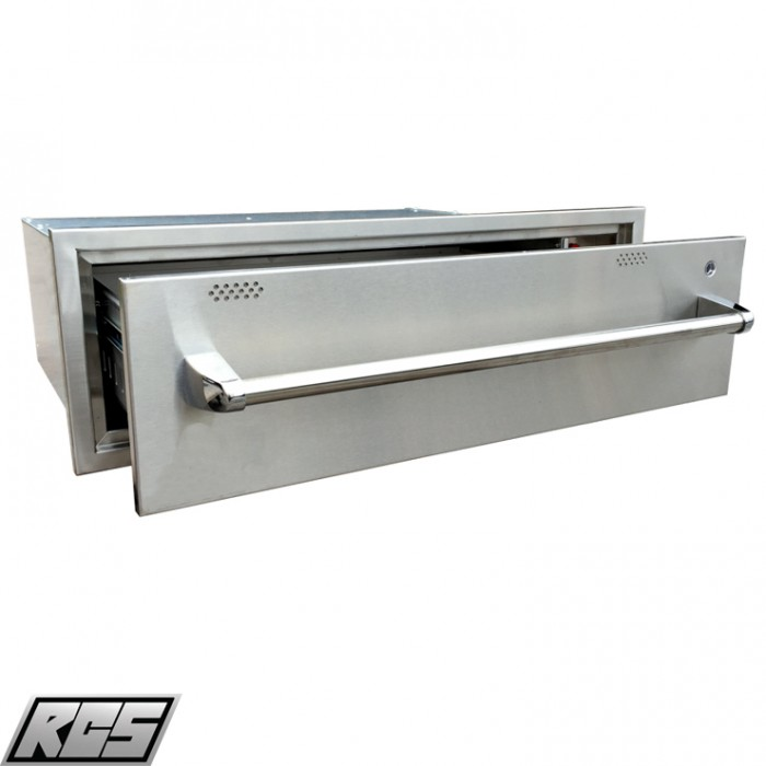RCS Stainless Warming Drawer - RWD1 RCS Grill Collection