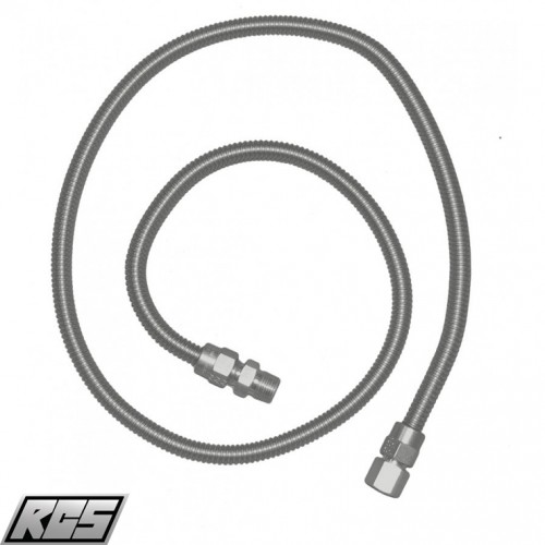 "RCS Stainless Steel 48"" Flex Hose - SSFLEX6448 RCS - Accessories"
