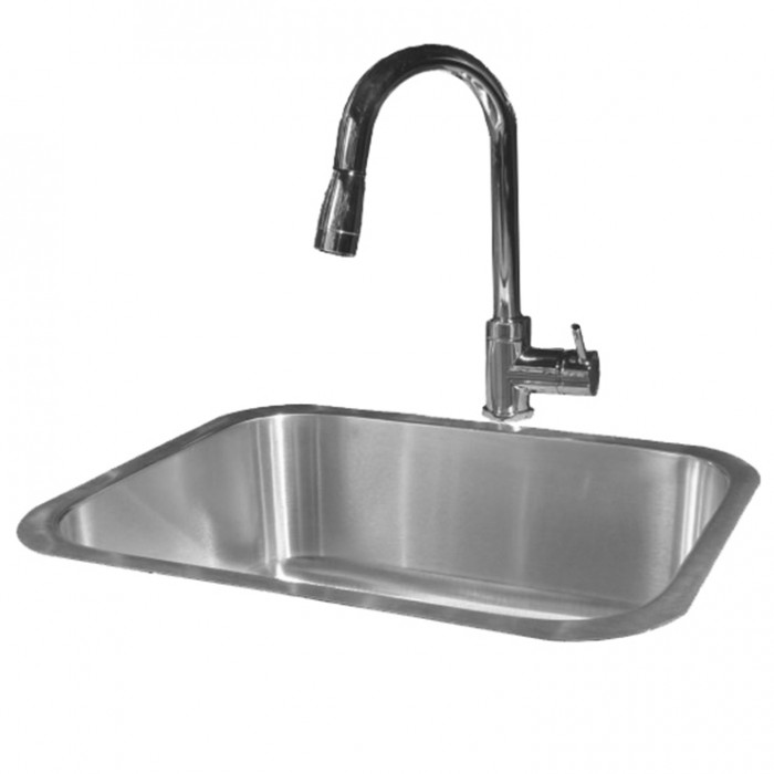 RCS Undermount Stainless Sink & Faucet Set - RSNK2 Outdoor Kitchen Accessories