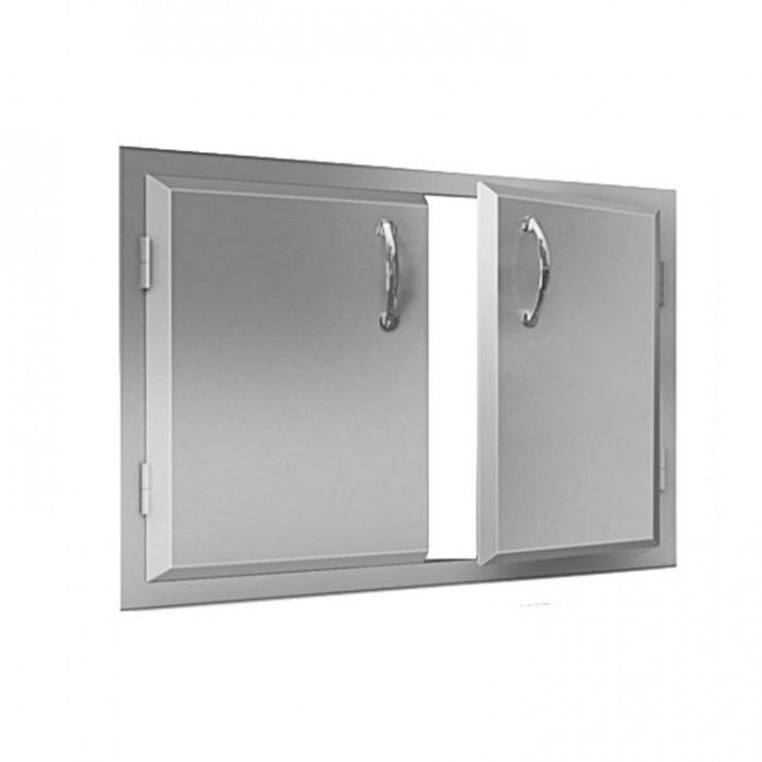 "RCS Agape Stainless 33"" Wide Double Door - ADD1"
