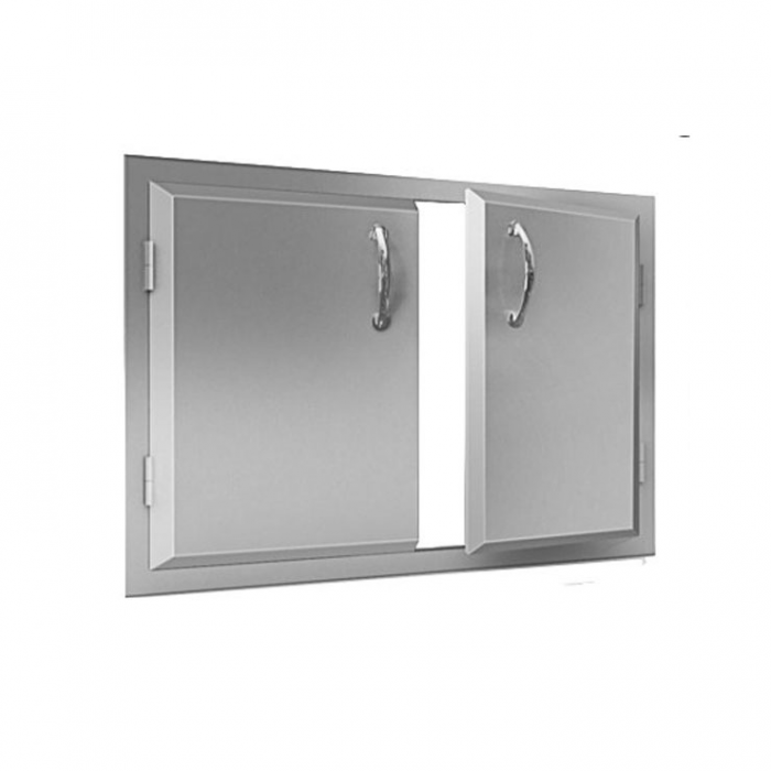 "RCS Agape Stainless 45"" Wide Double Door - ADD2"