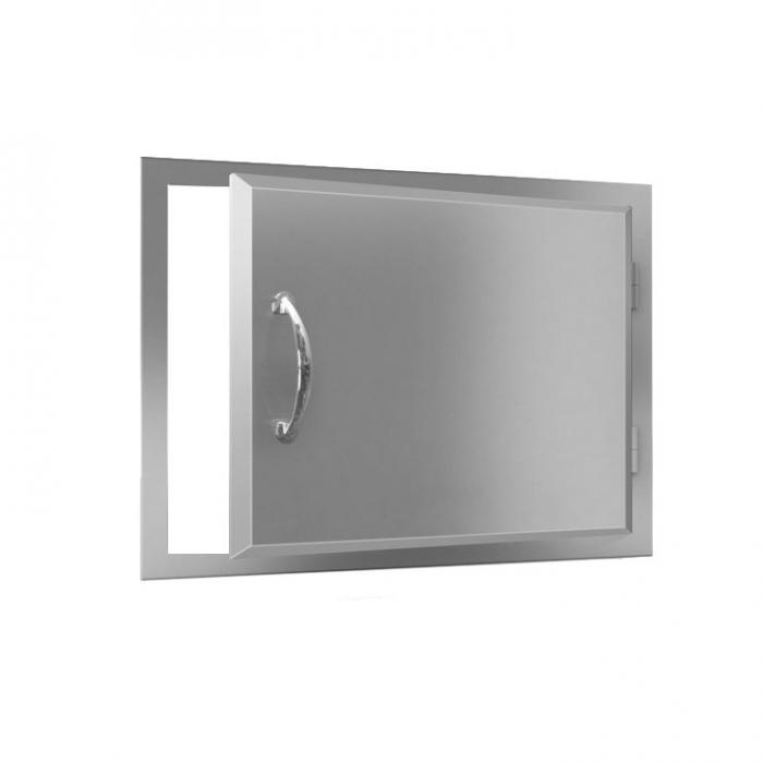 RCS Agape Stainless Reversible Horizontal Door - ADH1 BBQ GRILLS