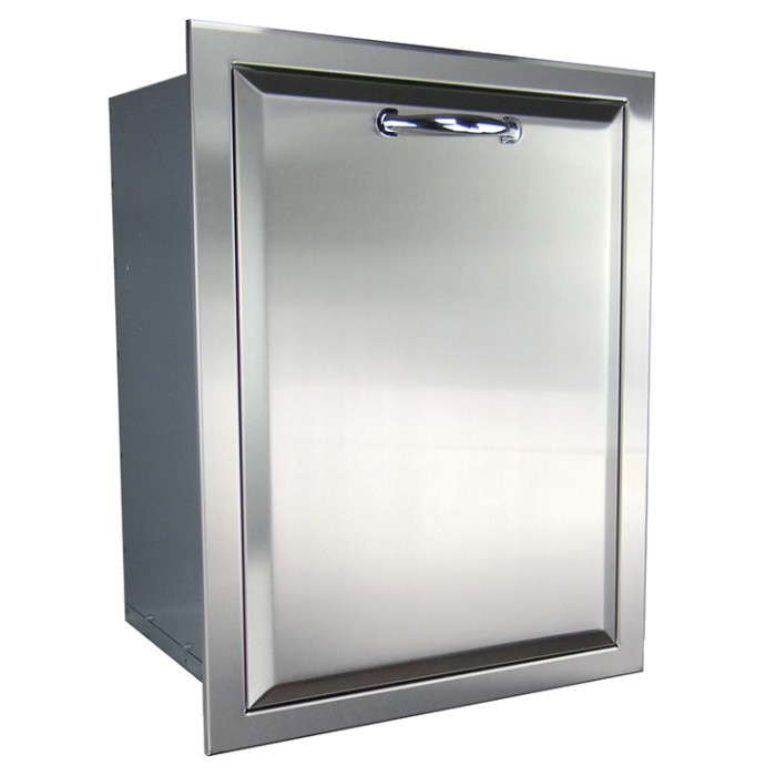 RCS Agape Stainless Fully Enclosed Trash Drawer - ATD1 BBQ GRILLS