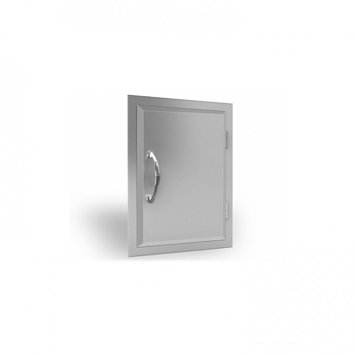 RCS Agape Stainless Reversible Large Vertical Door - ADV2