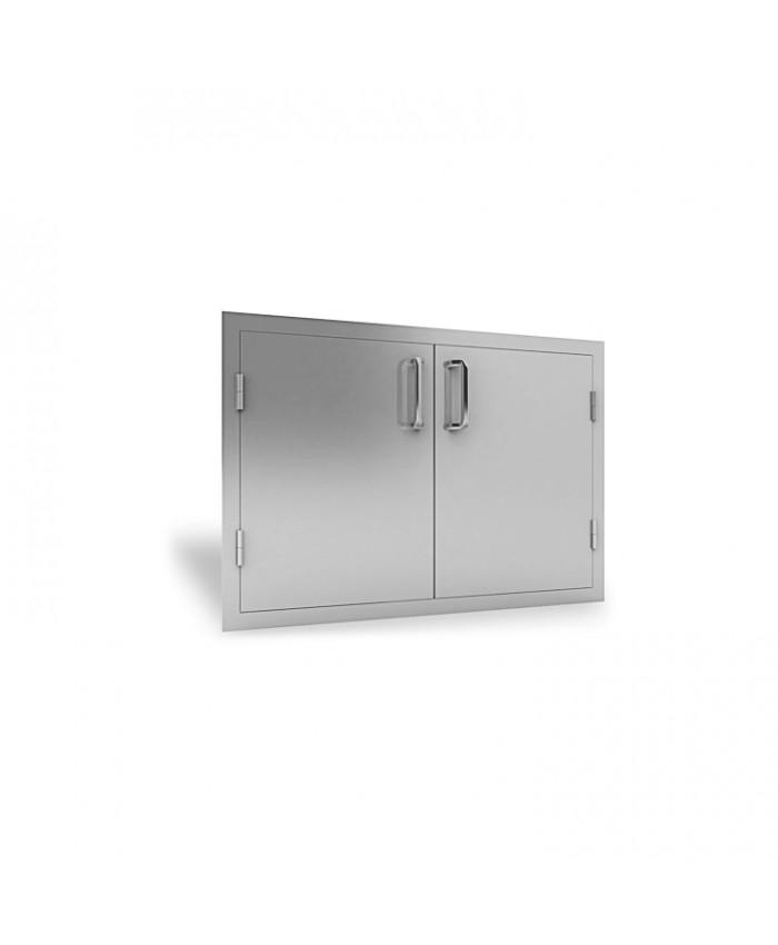 """RCS Stainless 33"""" Wide Double Door - RDD1"""