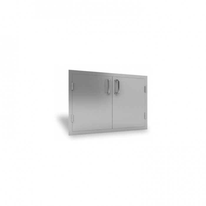 """RCS Stainless 45"""" Wide Double Door - RDD2 RCS Grill Collection"""