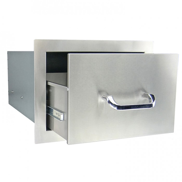 RCS Stainless Enclosed Single Drawer - RSR1