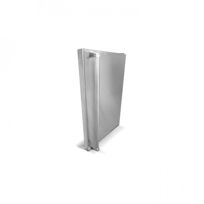RCS Stainless Fridge Door Upgrade For REFR1, Right Hand - SSFDLR Outdoor Refrigeration