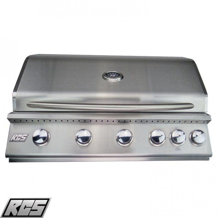"RCS 40"" Premier Series Built-In Grill W/Rear Burner - RJC40A RCS Grill Collection"