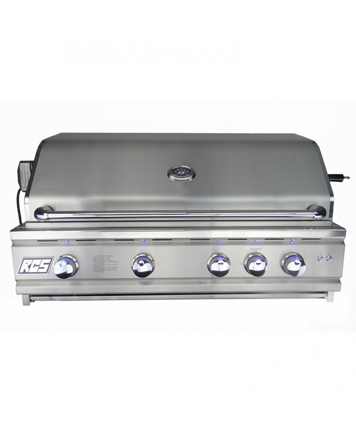 "RCS 42"" Cutlass Pro Series Freestanding Grill, Blue LED Lights - RON42a / RONJC"