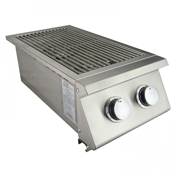 RCS Premier Series Slide‐In Double Side Burner - RJCSSB RCS Grill Collection