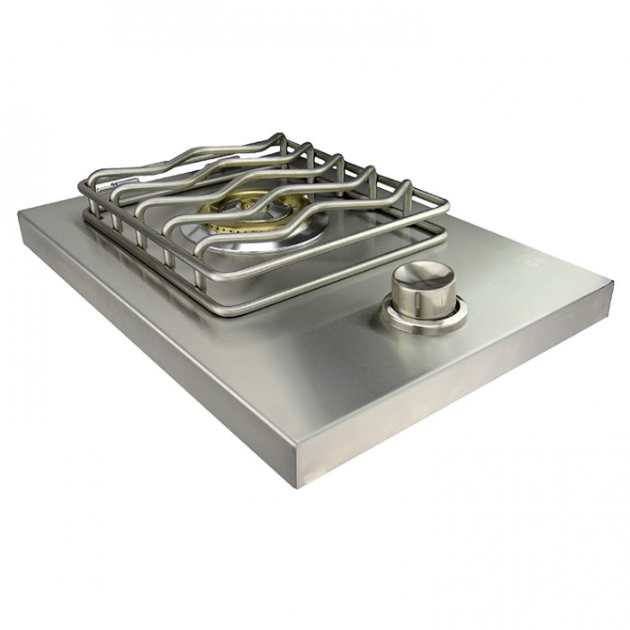 RCS Stainless Drop‐In Single Side Burner - RSB1 RCS Grill Collection