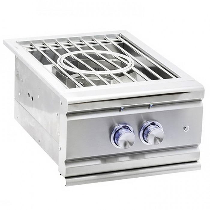 RCS Stainless Slide-In Pro Side Burner - RSB3 RCS Grill Collection
