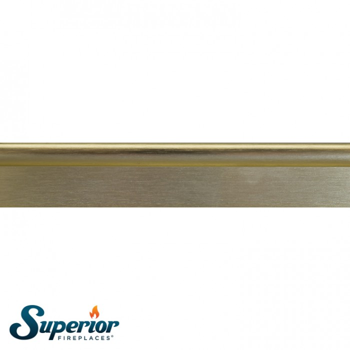 "Superior 50"" Bi-Fold Door, Brushed Brass - BDG50B"