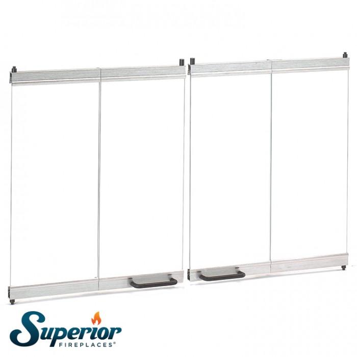 Superior Outdoor Collection Superior 36 Outdoor Bi Fold Glass Door