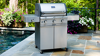 Saber Grills - Reduced Gas Usage